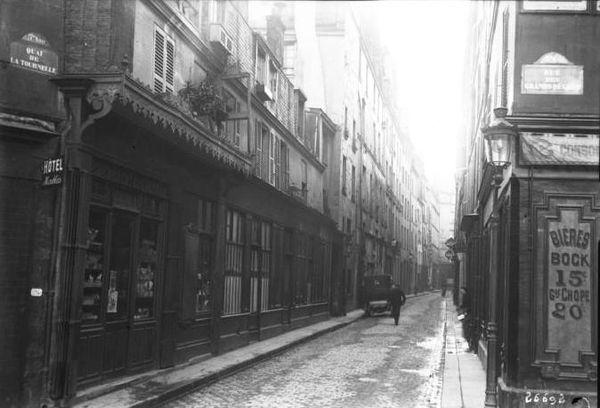 rue maitre albert en 1913