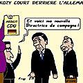 Sarkozy court après l'allemagne . .