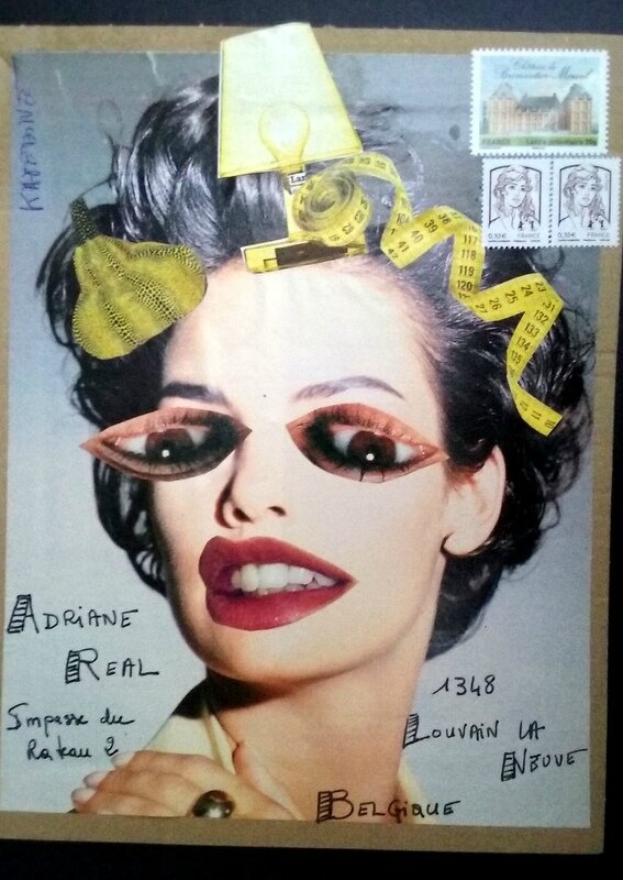 MAILART COLLAGE pour PERUA4