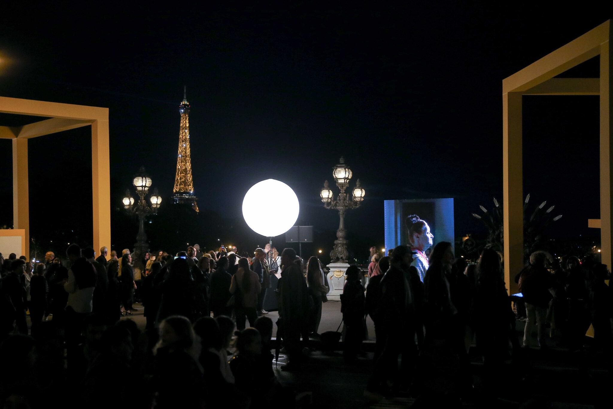 Nuit Blanche : Anne Hidalgo lance l'édition 2018 avec un fond de contestation. © Michel Stoupak. Sam 06.10.2018, 19h00m12.