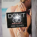 Don't go - reese & mase #1