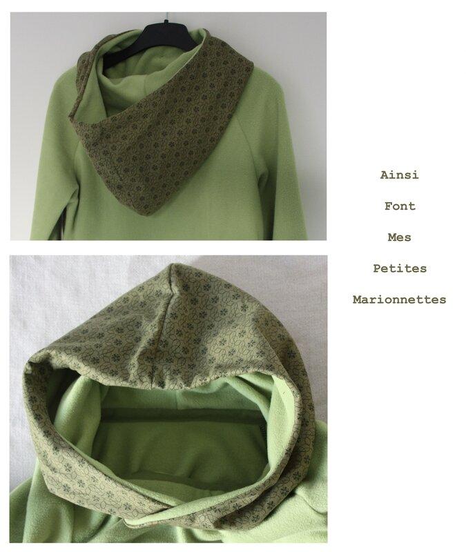 sweat polaire vert 7