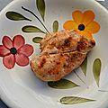 Blanc poulet mariné au barbecue