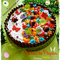 Gâteau de pâques ( génoise / chocolat /chantilly ) et variante
