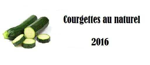 courgettes au naturel