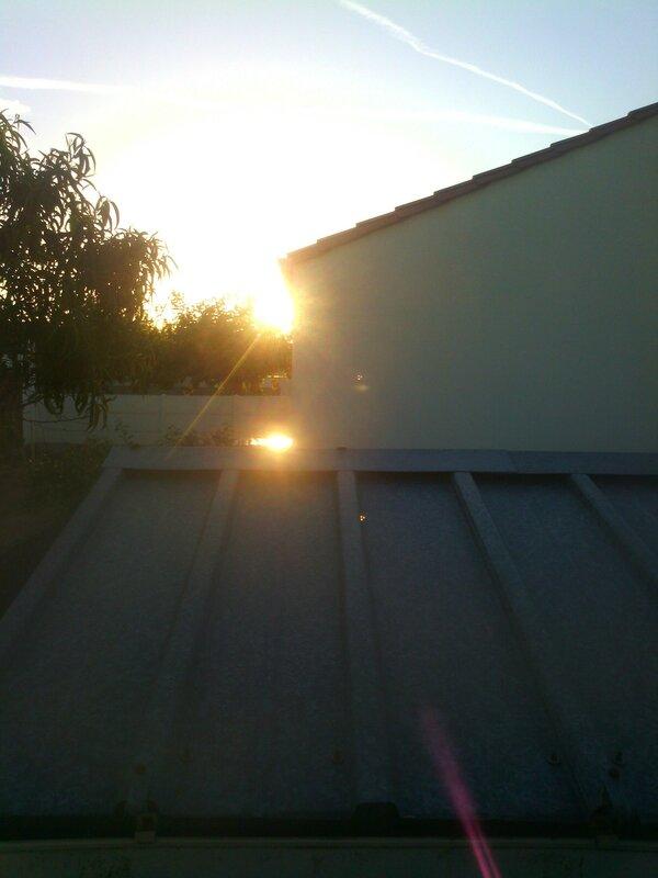 Le soleil se lève!