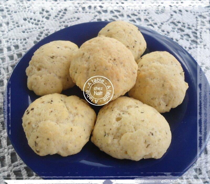 biscuits petit Billy et origan