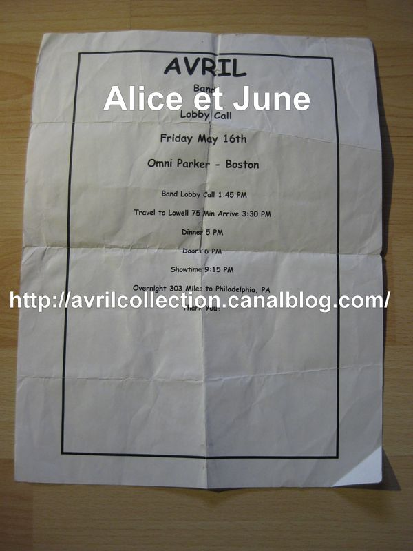 Event Paper-Live in Boston 2003