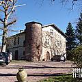 Maison Forte de Larrea du XVIe sciècle en Hiver