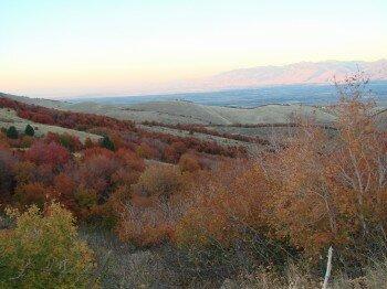 Cache Valley... Une vue d'ensemble sur la vallee ou je vis!