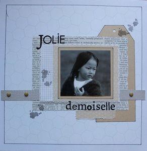 Jolie demoiselle