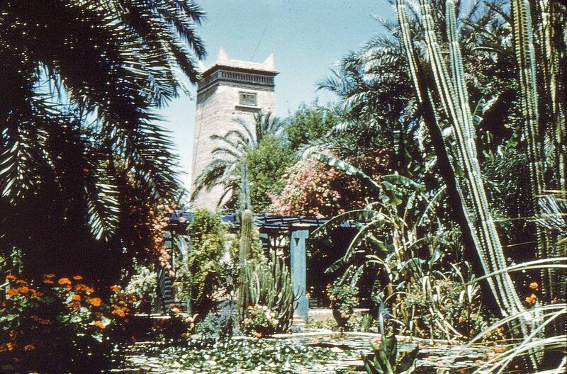 4-MRK, jardin Majorelle,1958