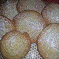 Sablé viennois - vanille/orange/fève tonka recette de base de chez ladurée