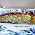 Gâteau au yaourt et aux fruits / recette de grimoire