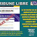 Droit de réponse d'étienne chouard aux allégations mensongères du journal le monde sur son prétendu « décodex »