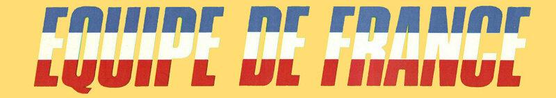 Bandeau Equipe de France