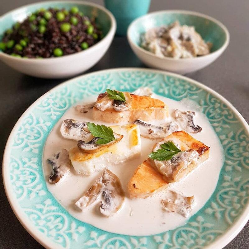 saumon bouillon thaï, riz aux petits pois cathytutu cyril lignac tous en cuisine