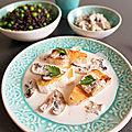 ...mon saumon bouillon thaï, riz aux petits pois de cyril lignac dans tous en cuisine...
