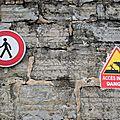 Socoa, panneaux