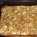 Clafoutis pommes/poires à la nougatine