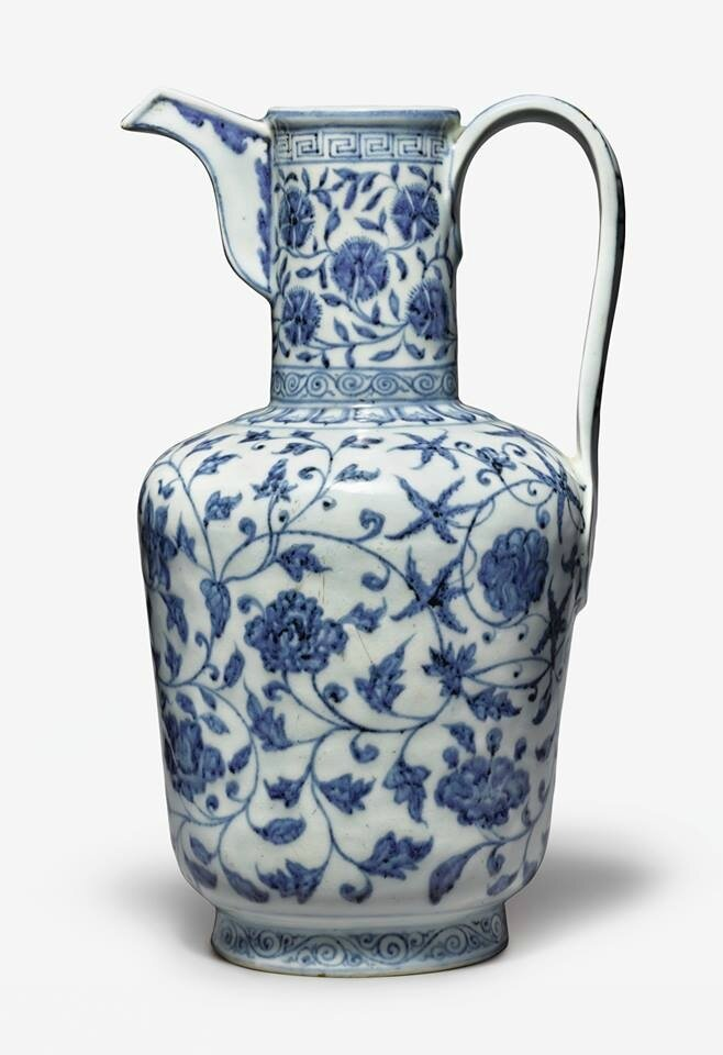 31 Million Ming Dynasty Ewer Leads Day 2 Of Sothebys Asia Week