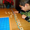 Travailler la multiplication et compter en faisant des bonds.