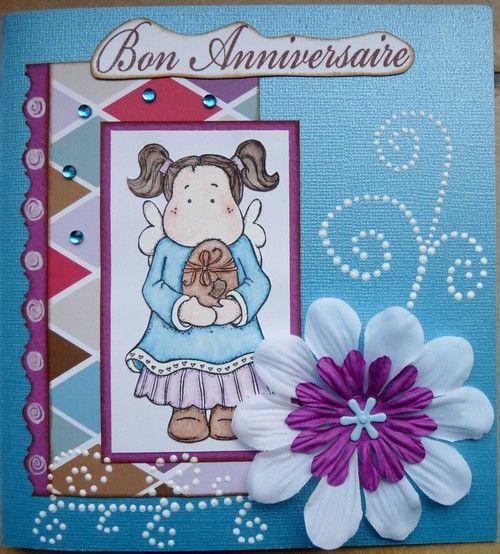Carte anniversaire Messaline