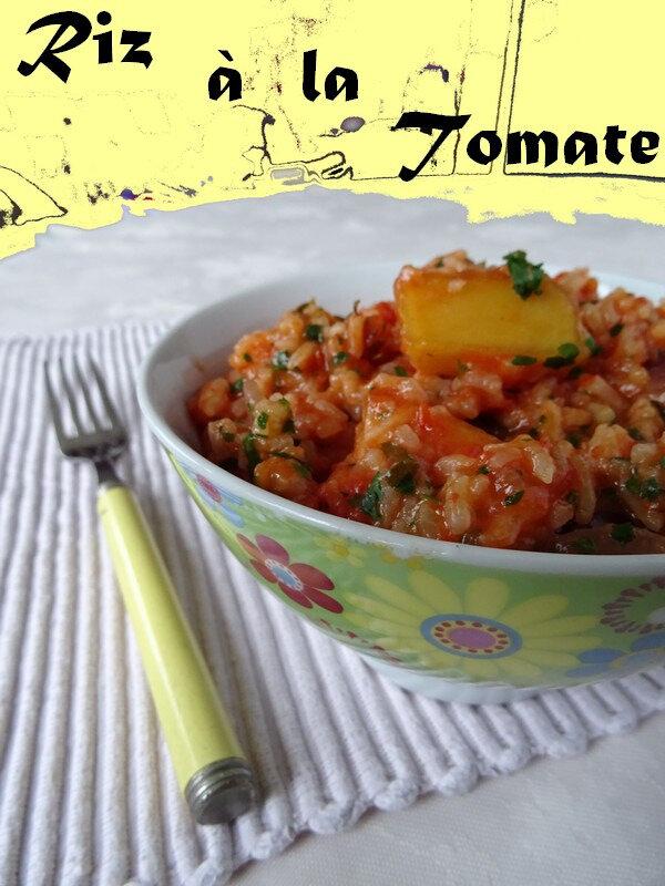 Riz a la tomate express