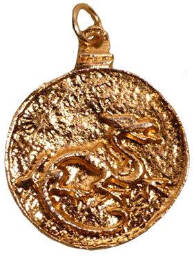 Talisman Dragon Rouge du GRAND Maitre Zoé