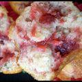 Muffins fraise*menthe