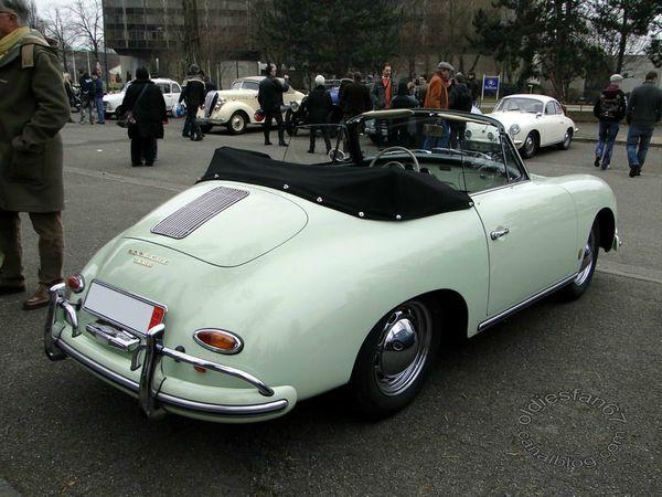 porsche 356 1600 roadster 2