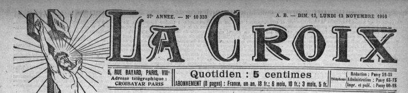 La Croix 1916_1
