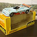 Gulf ford le mans 1975.solido. #38. 1/43.