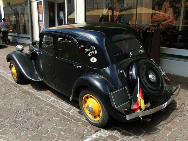 citroen traction c11 1938 4