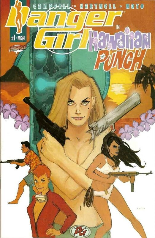 wildstorm danger girl hawaiian punch