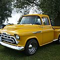 CHEVROLET 3100 Stepside pick-up 1957 Madine (1)