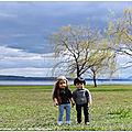 Belle et ethan au bord du lac + pépinières + facebook