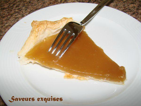 tarte sirop d'érable