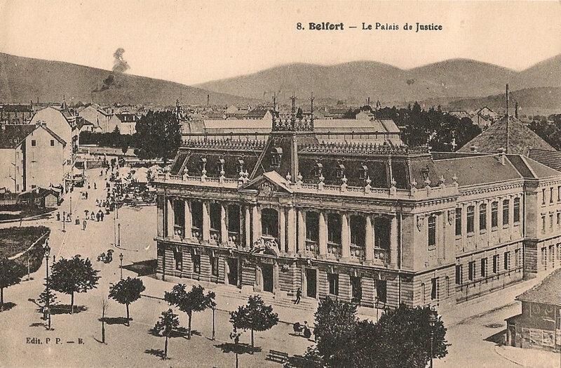 Belfort CPA Place République Palais Justice Rue Fréry Avion absent