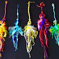 parures cheveux à plumes de yurtao