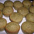 Muffin pistache - abricot