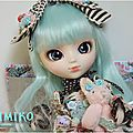 Kimiko - Pullip Alice du Jardin Mint version