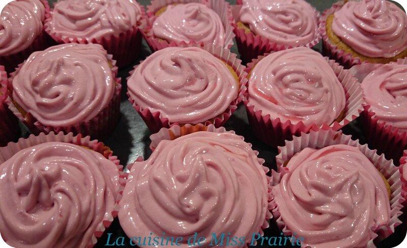 Cupcakes pomme-framboise