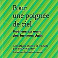 Pour une poignée de ciel, poèmes au nom des femmes dalit (éd. bruno doucey)