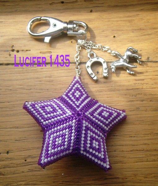porte clé seeing star