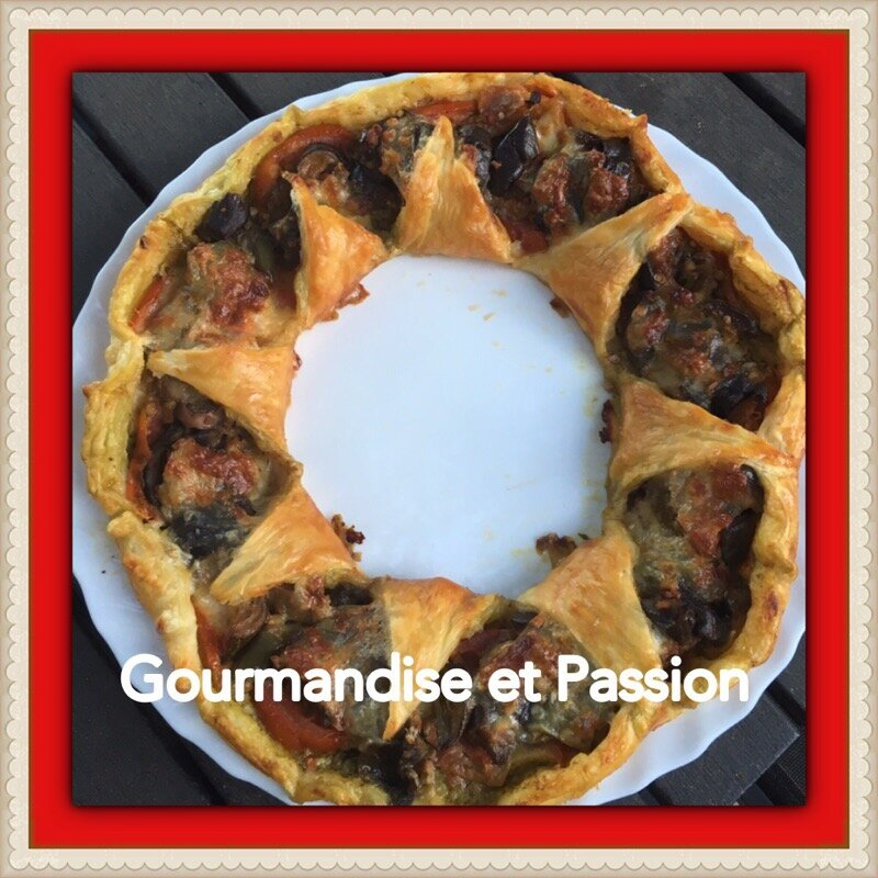 Couronne à la ratatouille