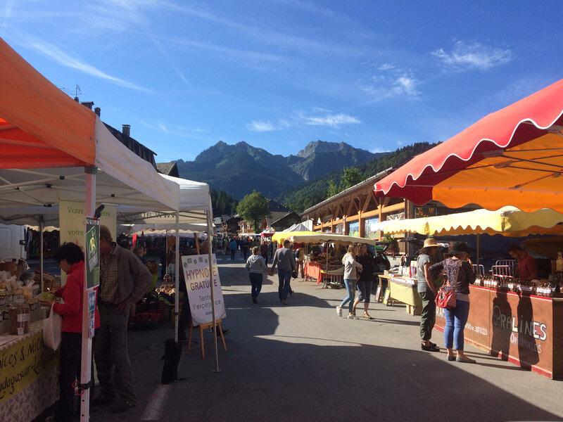 Le marché d'Abondance et la fête du fromage