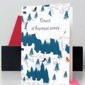 Les cartes de voeux de fox in the snow