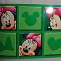 Minnie Mouse carte postale (2)
