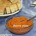 Beurre pizza